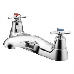Ideal Standard Elements Bath Filler With Crosshead Handles