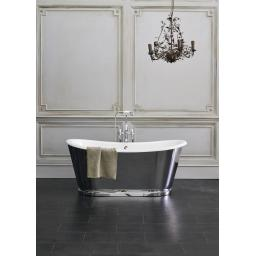 Burlington Balthazar double-ended bath White