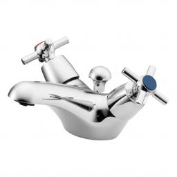 Ideal Standard Elements Basin Mixer With Crosshead Handles