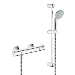 Grohe 800 Thermostatic Exposed Shower