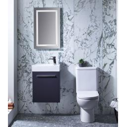Tavistock Kobe 450mm Wall Mounted Unit With Basin