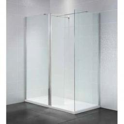 Identiti2 900mm Wet Room 8mm Glass Panel