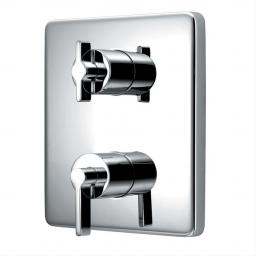 Ideal Standard TT Silver Built-in Thermostatic Shower Mixer