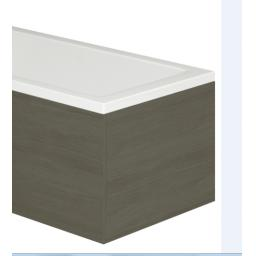 Vermont 700mm MDF Bath End Panel & Plinth