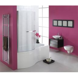 Hampstead 1500x700/900mm Shower Bath Pack