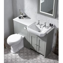 Tavistock Vitoria Back to Wall WC & White Soft Close Seat