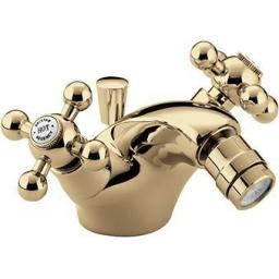 Bristan Bidet Mixer With Pop UP Waste- Gold