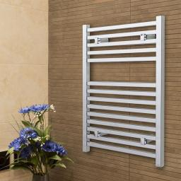 Todi Chrome 1110x500mm Towel Radiator