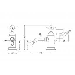 https://www.homeritebathrooms.co.uk/content/images/thumbs/0010236_burlington-arcade-single-brass-lever-bidet-mixer-with-