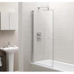 Identiti Bath Screen & Towel Rail