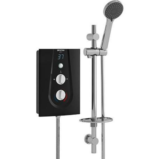 Bristan Glee Electric Shower 9.5KW- Black
