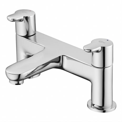 Ideal Standard Concept Bath Filler 2 Hole Dual Control