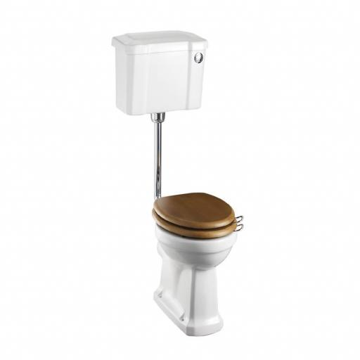 Burlington Standard low level WC with 440 front push button cistern