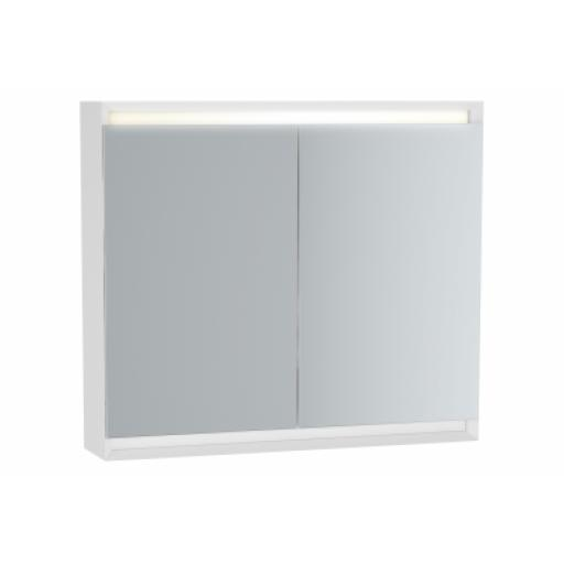 Vitra Frame Mirror Cabinet 80 cm, Matte White