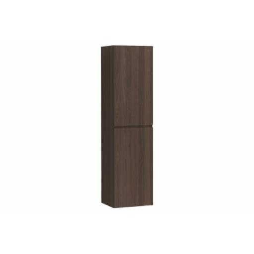 Vitra Memoria Tall Unit with Door, Chestnut, Left