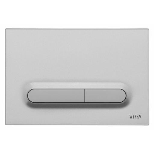 Vitra Loop T Mechanical Control Panel, Matt Chrome