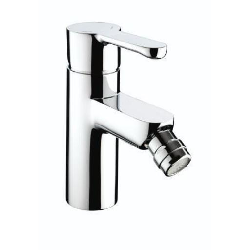 Bristan Nero Bidet Mixer With Pop Up Waste