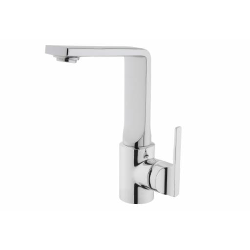 Vitra Suıt L Basin Mixer, (With Swivel Spout), Chrome