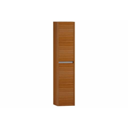 Vitra T4 Tall Unit, 2 Doors, 35x35x160 cm, Hacienda Brown, Left