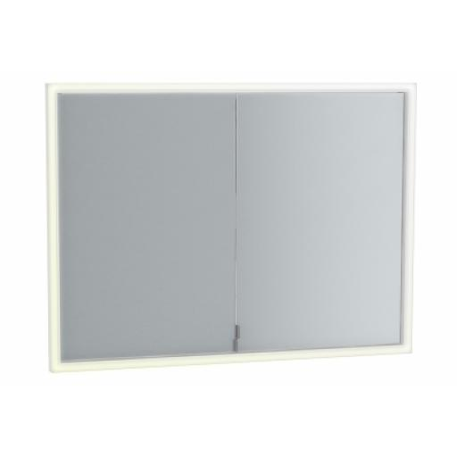 Vitra Deluxe Mirror Cabinet Build into wall, 95cm