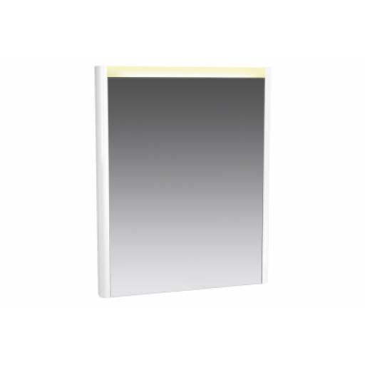 Vitra T4 Illuminated Mirror, 60 cm, High Gloss White