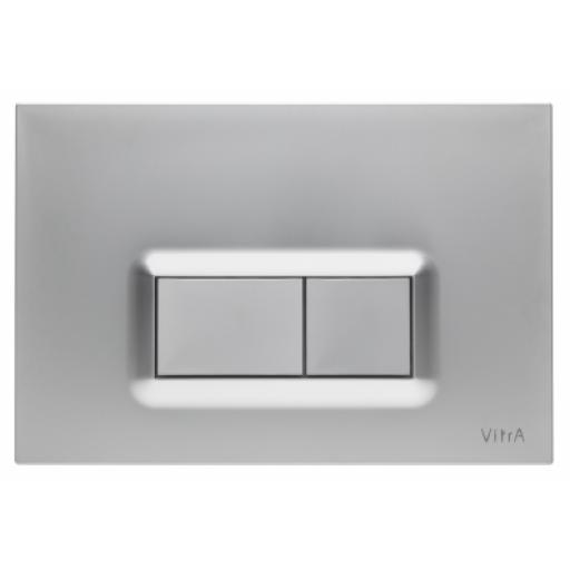 Vitra Loop R Mechanical Control Panel, Matt Chrome