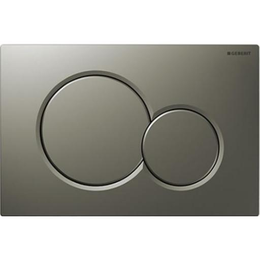 Geberit Sigma01 Dual Flush Plate - Matt Chrome