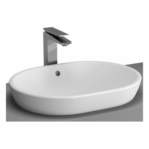 Vitra M-Line Bowl, No Overflow Hole, 60 cm