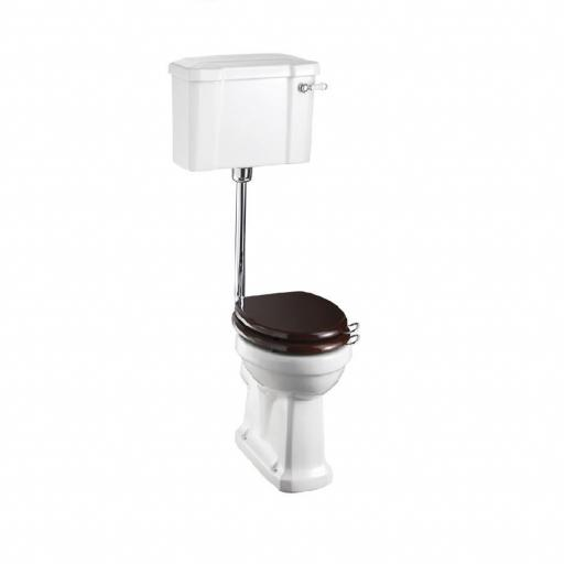 Burlington Standard low level WC with 520 lever cistern