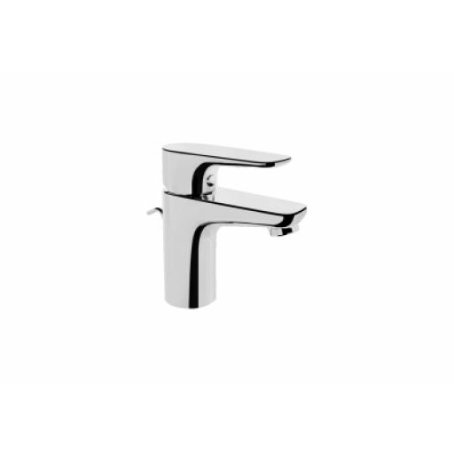 Vitra X-Line Short Basin Mixer with Pop-Up Waste