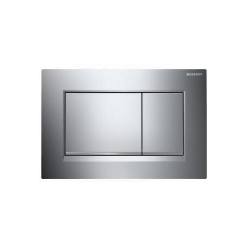Geberit Sigma30 Dual Flush Plate - Matt Chrome
