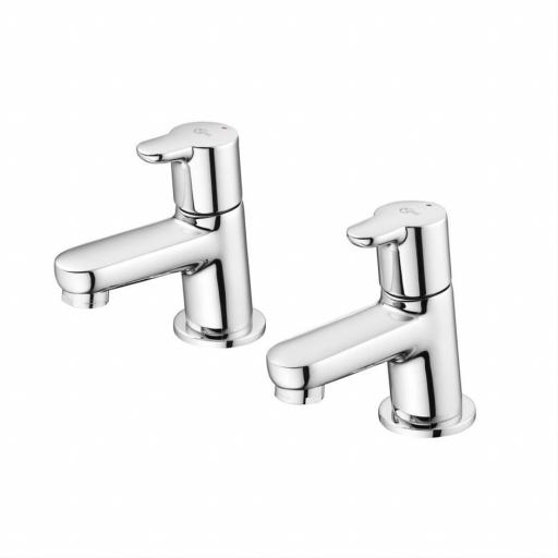 Ideal Standard Concept Bath Pillar Taps
