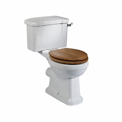 Tavistock Vitoria Close Coupled Pan & Cistern & White Soft Close Seat