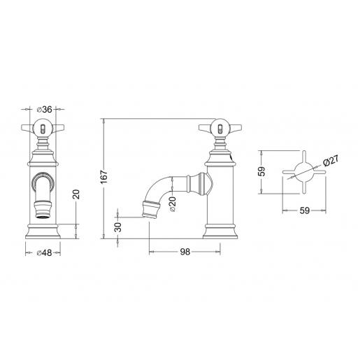 https://www.homeritebathrooms.co.uk/content/images/thumbs/0010147_burlington-arcade-mini-single-lever-basin-mixer-withou