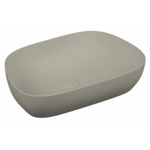Vitra Outline Tv Bowl Washbasin, Matte Taupe