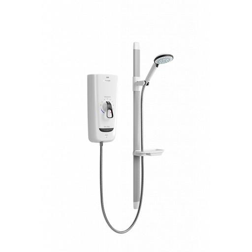 Mira Advance Flex 9.8kW - White/Chrome