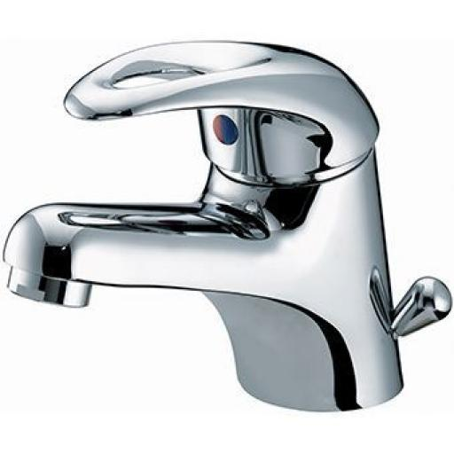 Bristan Java Basin Mixer With Side Action Pop Up Waste