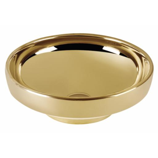 Vitra Water Jewels Circular Bowl, 40 cm, Gold