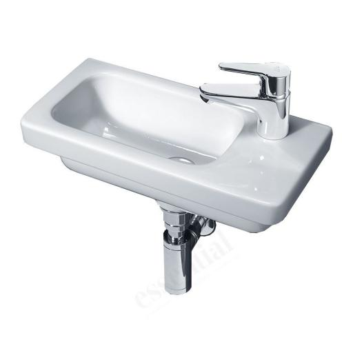 Ivy 450mm Slim Depth Basin RH