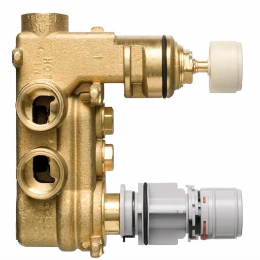 Ideal Standard TT Built-In Thermostatic 2 Control Shower Valve Body