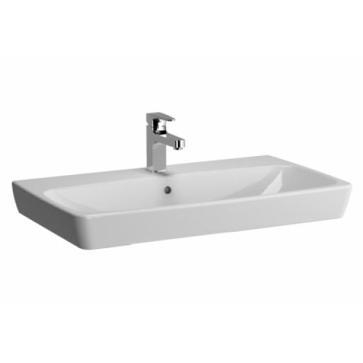 Vitra M-Line Washbasin, No Overflow Hole, 80 cm