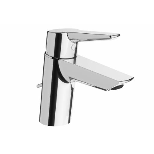 Vitra Solid S Basin Mixer, (With Pop-Up), Chrome
