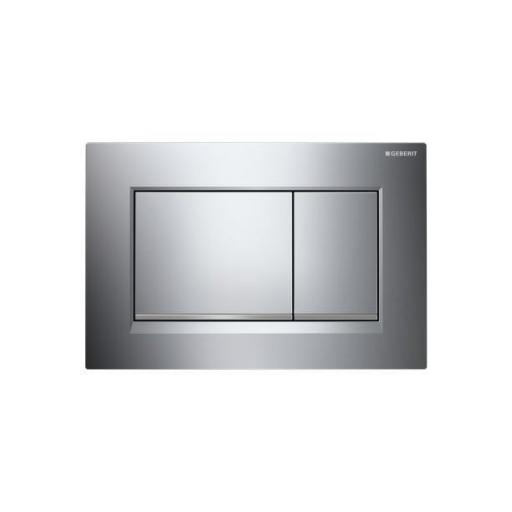 Geberit Sigma30 Dual Flush Plate - Gloss Chrome