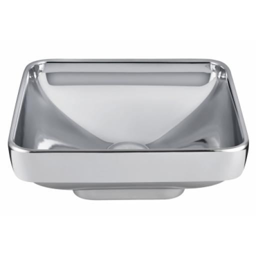 Vitra Water Jewels Square Bowl, 40 cm, Platinum