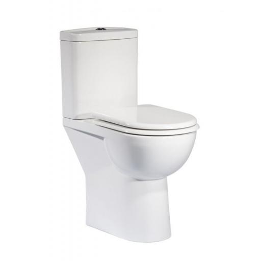 Tavistock Micra Comfort Height Pan & Cistern (Excluding Seat)