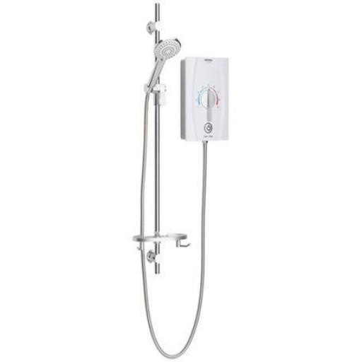 Bristan Joy Beab Care Thermostatic Electric Shower 9.5KW With Longer Dial & Kit