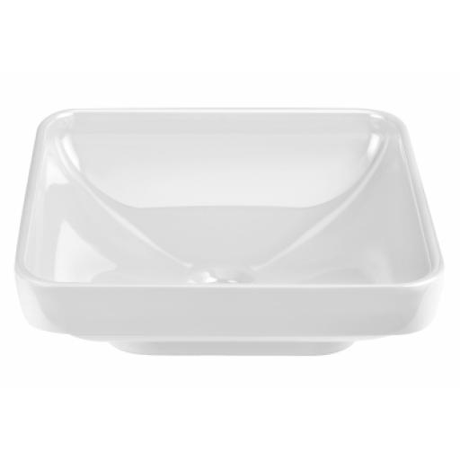 Vitra Water Jewels Square Bowl, 40 cm, White