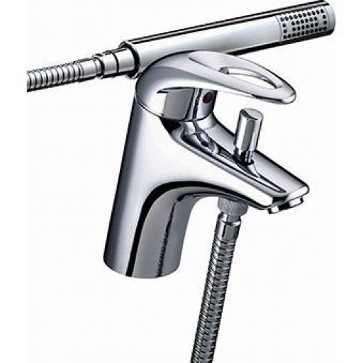Bristan Java One Hole Bath Shower Mixer