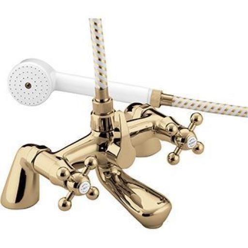 Bristan Regency Bath Shower Mixer- Gold