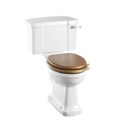 Burlington Rimless close coupled WC with 440 lever cistern